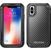 Protector para el iPhone X - Negro/Negro