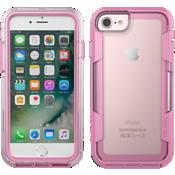 Estuche Voyager para iPhone 7 - Transparente/Rosa