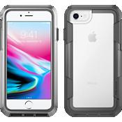 Voyager para iPhone 8/7/6s/6 - Gris transparente