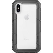 Voyager para iPhone X - Transparente/Gris