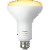 Bombilla individual Hue BR30 para ambientación con iluminación blanca