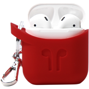 PodPocket Case for AirPods - Blazing Red