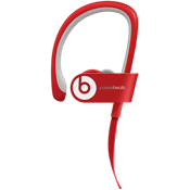 Intrauricular inalámbrico Powerbeats2 - Rojo