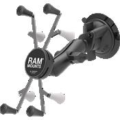 Montura con ventosa RAM Twist-Lock con base RAM X-Grip para tablets de 7 pulgadas y 8 pulgadas