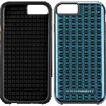 Estuche con tachas Rebecca Minkoff para iPhone 6/6s - Metálico real