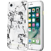 Estuche traslúcido de protección para iPhone 7 - Mármol blanco y negro