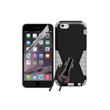 Paquete resistente para Apple iPhone 6 Plus/6s Plus - Negro