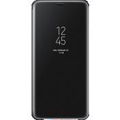 Cubierta plegable S-View para Galaxy S9+ - Negro