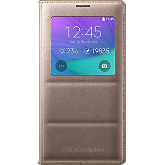 Cubierta plegable S-View para Samsung Galaxy Note 4