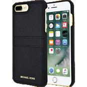Estuche con bolsillo de piel Saffiano para iPhone 7 Plus