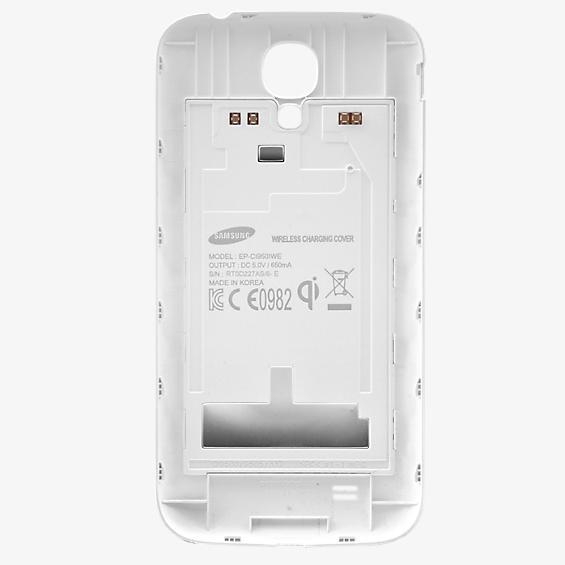 Cubierta de carga inalámbrica para Galaxy S 4