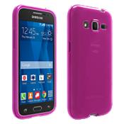 Cubierta de silicona brillante para Samsung Galaxy Core Prime