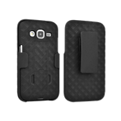 Paquete combinado de protector/funda con pie de apoyo para el Samsung Galaxy Core Prime