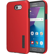 Estuche DualPro para J7/J7 V - Color Iridescent Red/Negro