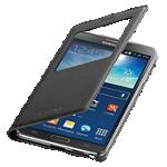 Cubierta plegable S-View de carga inalámbrica para Samsung Galaxy note3