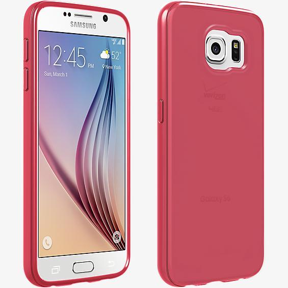 Cubierta de silicona brillante para el Samsung Galaxy S6