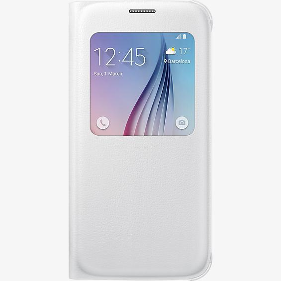 Cubierta plegable S-View para el Samsung Galaxy S6