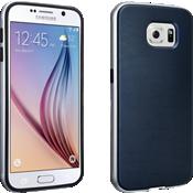 Cubierta suave con protección para el Samsung Galaxy S 6 - Azul