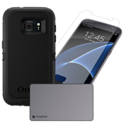 Paquete de cargador y protección Defender para Galaxy S7
