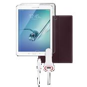 Paquete de cubierta tipo folio para el Galaxy Tab S2