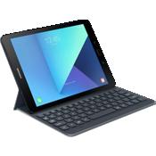 Cubierta con teclado para Galaxy Tab S3 - Plateado