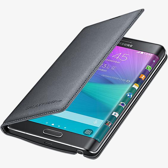 Cubierta tipo carpeta para Samsung Galaxy Note Edge