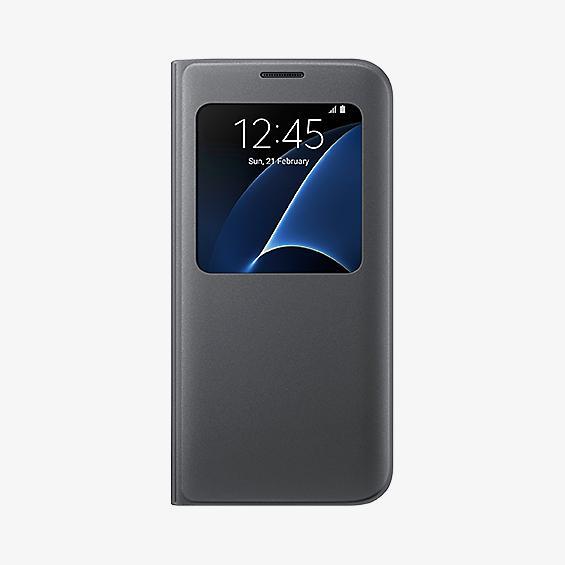 Cubierta S View para Samsung Galaxy S7 edge