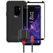 Paquete de cargador y protector OtterBox Symmetry para Galaxy S9+