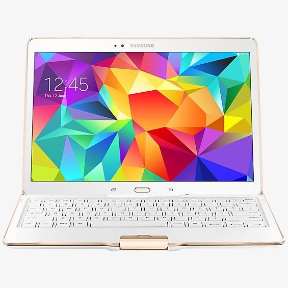 Estuche con teclado para Tab S 10.5 con Bluetooth - Blanco brillante