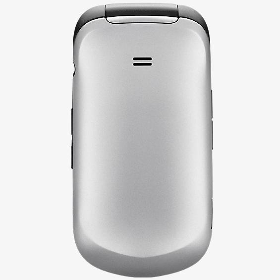 Cubierta de batería - Plateado nieve para el Samsung Gusto 2