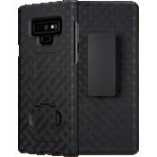 Paquete combinado de cubierta/protector para Galaxy Note9 - Negro