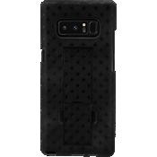 Paquete combinado de cubierta/protector para Galaxy Note8 - Negro