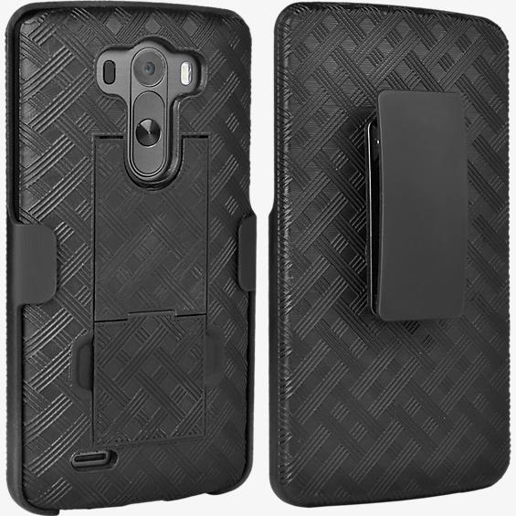 Combo de protector/soporte para LG G3