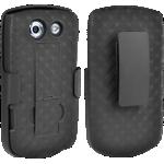 Paquete combinado de cubierta/protector Verizon para Kyocera Brigadier