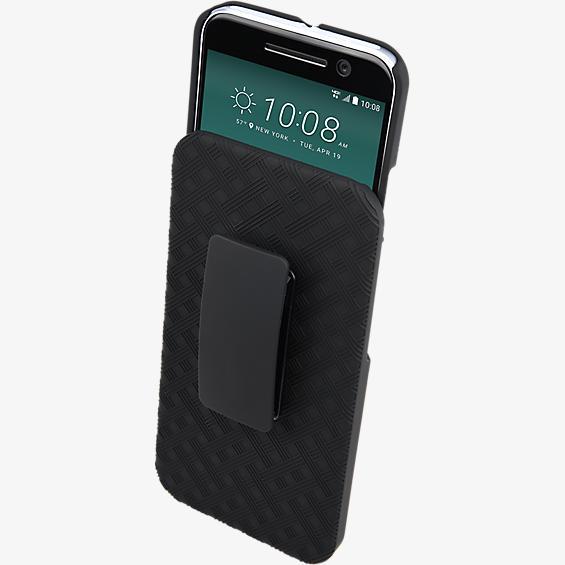 Paquete combinado de cubierta/protector para HTC 10