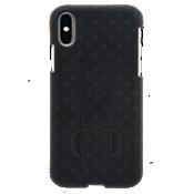Paquete combinado de protector/estuche para iPhone X - Negro