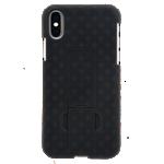 Paquete combinado de protector/estuche de Verizon para el iPhone XS/X