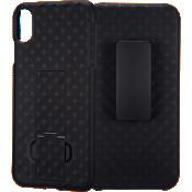 Paquete combinado de protector/estuche de Verizon para el iPhone XS Max
