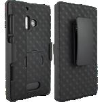 Paquete combinado de cubierta/protector Verizon para Nokia Lumia 928
