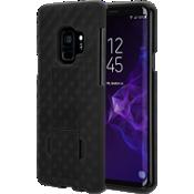 Paquete combinado de protector/cubierta para Galaxy S9 - Negro