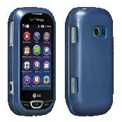 Cubierta a presión para LG Extravert 2 - Azul