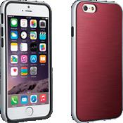 Cubierta suave con protección para iPhone 6/6s - Marsala