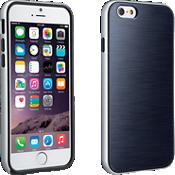 Cubierta suave con protección para iPhone 6/6s - Azul marino