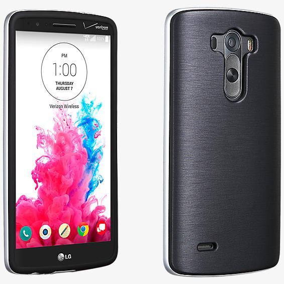 Cubierta suave con protección para el LG G3