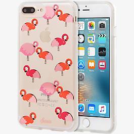 Estuche ClearCoat para iPhone 7 Plus/6s Plus/6 Plus - Flamingo