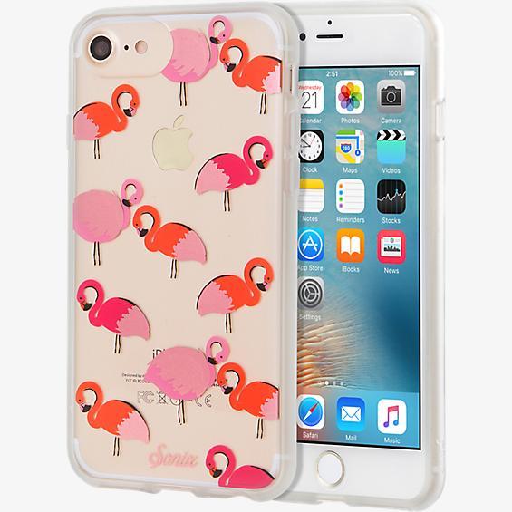 Estuche ClearCoat para iPhone 7/6s/6 - Flamingo