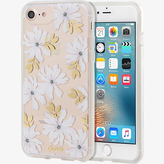 Estuche ClearCoat para iPhone 7/6s/6 - Gardenia