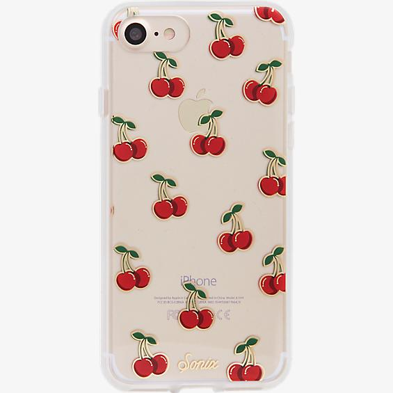Estuche ClearCoat para iPhone 7 - Color Cherry Bomb/Rojo