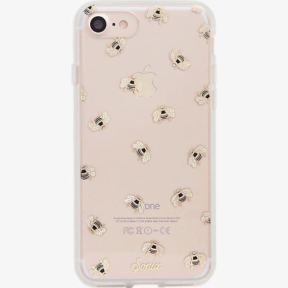 Estuche ClearCoat para iPhone 7 - Color Honey Bee/Dorado
