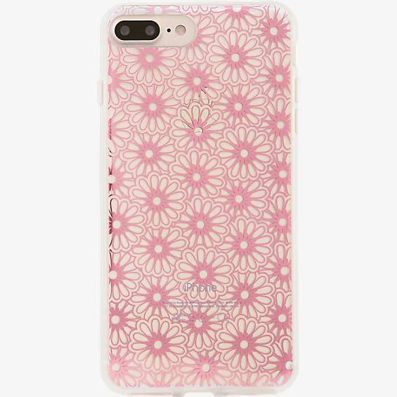 Estuche ClearCoat para iPhone 7 Plus - Color Berry Lace/Rosa